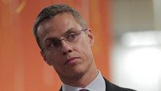 Премьер-министр Финляндии Александр Стубб