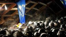 Спецназ на Евромайдане. Архивное фото