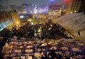 Вид на Майдан Незалежности во время протестов 11 декабря 2013 года