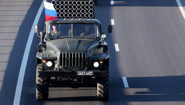 Передислокация российской военной техники. Архивное фото