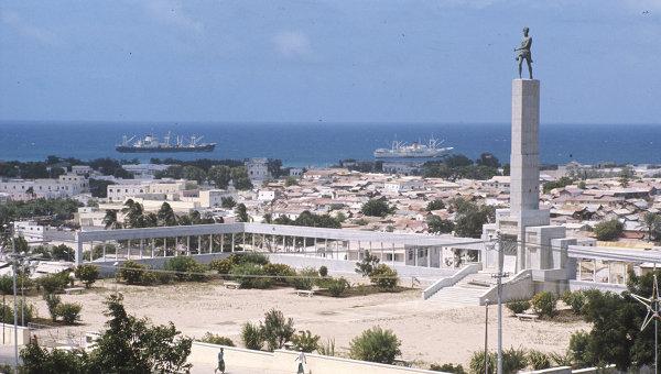 Вид Могадишо - столицы Сомали