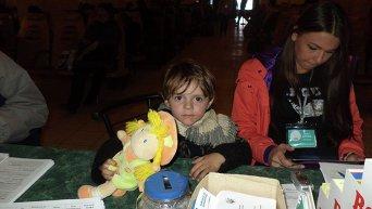 На Станции Харьков регистрируют до сотни семей переселенцев в день