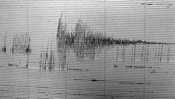 Сейсмограмма. Архивное фото