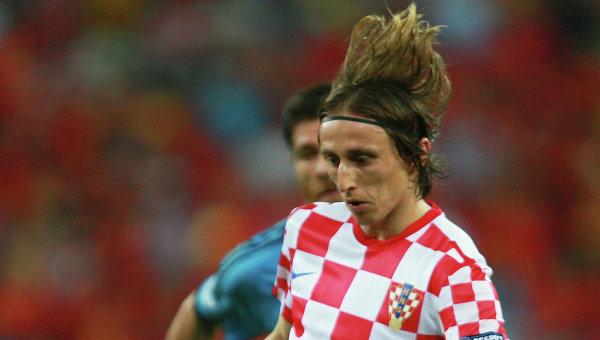 Игрок сборной Хорватии Лука Модрич
