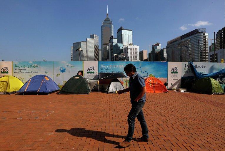 Протесты в Гонгонге