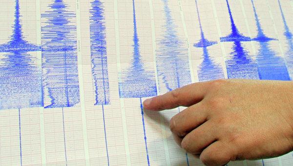 Землетрясение магнитудой 5,6 произошло к востоку от японского острова Хонсю