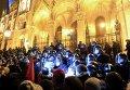 Протесты против политики премьера Венгрии