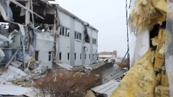 Развалины донецкого аэропорта