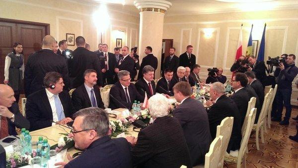 Петр Порошенко в ходе рабочего визита в Молдавию
