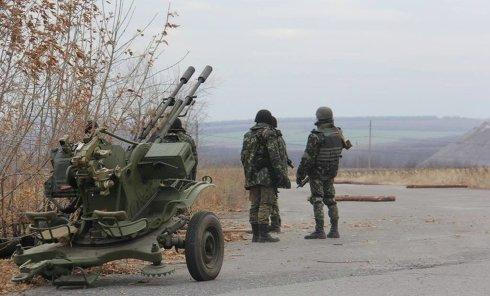 Днепропетровский мехбатальон укрепляет позиции в Лисичанском направлении