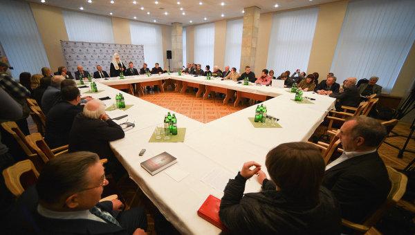 Презентация новой книги о Голодоморе 1932-1933 годов в Украине