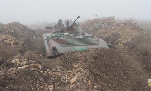 Оборона Дебальцево: расположение 128 горно-пехотной бригады ВСУ. Видео