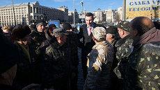 Виталий Кличко на Майдане Незалежности