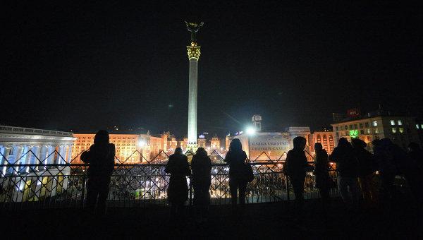 Ночной Киев. Архивное фото