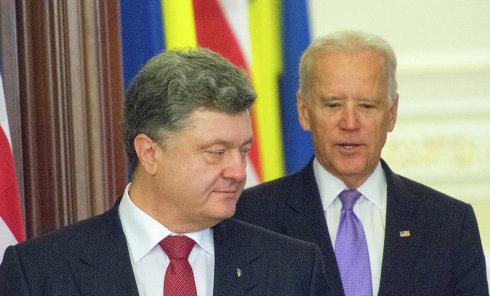 Встреча Петра Порошенко с Джо Байденом