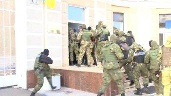 Штурм Одесского НПЗ. Видео