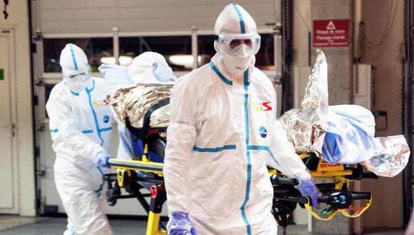 Госпитализация зараженного вирусом Эбола