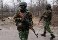 Украинские военнослужащие в Луганской области