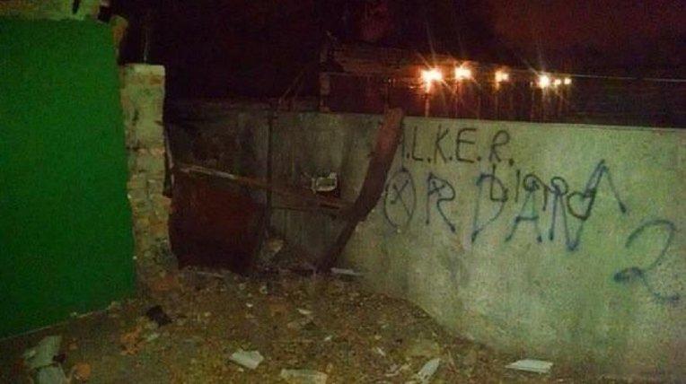 Взрыв возле воинской части в Харькове