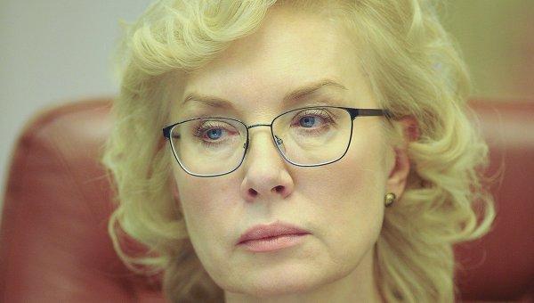 Глава Минсоцполитики Украины Людмила Денисова