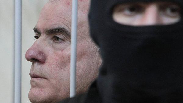 Алексей Пукач в зале суда. Архивное фото