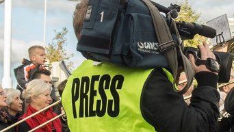 Журналист. Архивное фото