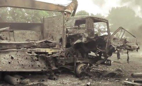 Артиллерия ополчения уничтожила скопление техники ВСУ. Видео