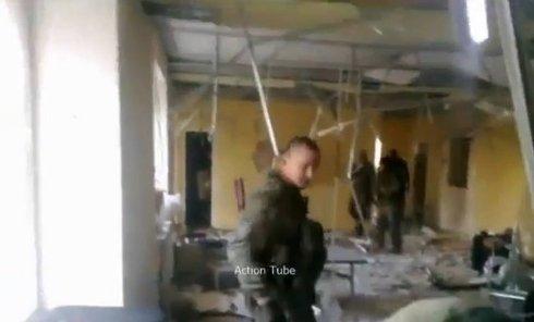 Ополчение продолжает штурмовать донецкий аэропорт. Видео