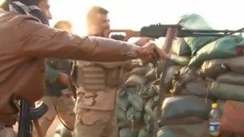 Первые успехи пешмерги в войне с ИГ в иракской пустыне. Видео