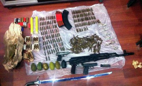 Оружие, изъятое в Донецкой области