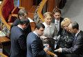 Депутаты обсуждают кандидатов на посты в Кабмине на заседании Верховной Рады
