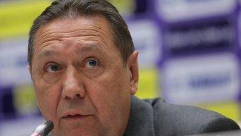 Президент Федерации футбола Украины Анатолий Коньков