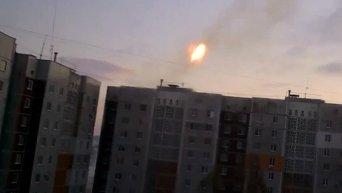Установка Град в Донецке