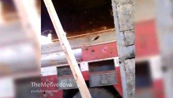 Пожарная часть аэропорта Донецка