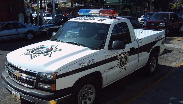 Полиция в Мексике