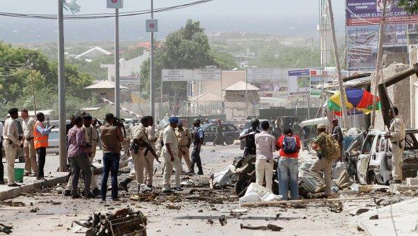 Нападение на конвой в Могадишо