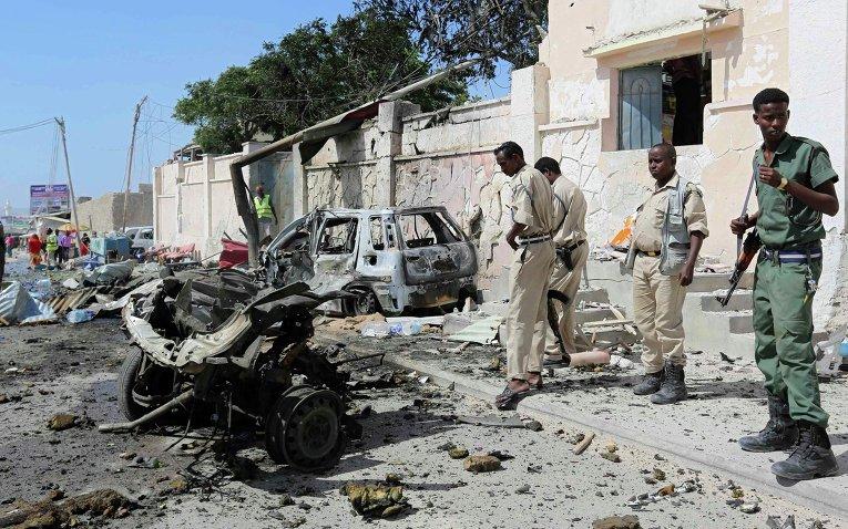 Нападение на конвой ООН в Могадишо