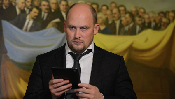 Сергей Каплин в Верховной Раде