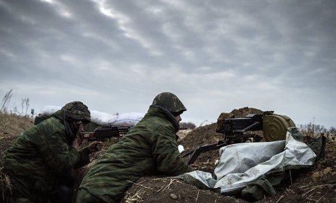 Бойцы ополчения в Донбассе. Архивное фото