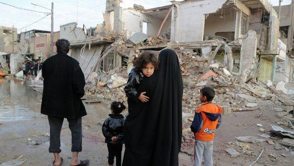После теракта в Багдаде. Архивное фото