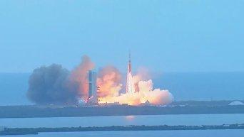 Orion стартовал в свой первый тестовый беспилотный полет. Видео
