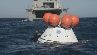 НАСА работает над новой капсулой корабля Orion. Видео