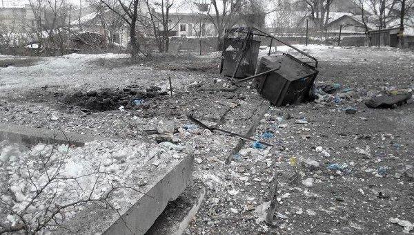 После обстрелов в Первомайске