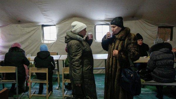 Поток беженцев в Россию не прекращается