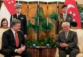 Петр Порошенко и Тони Таном Кенг Йамом