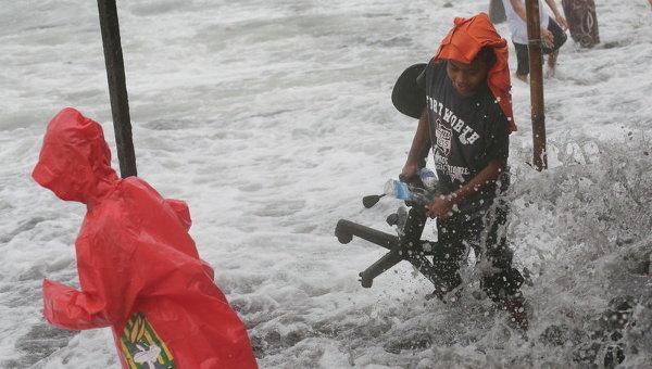 Последствия тайфуна Хагупит на Филиппинах