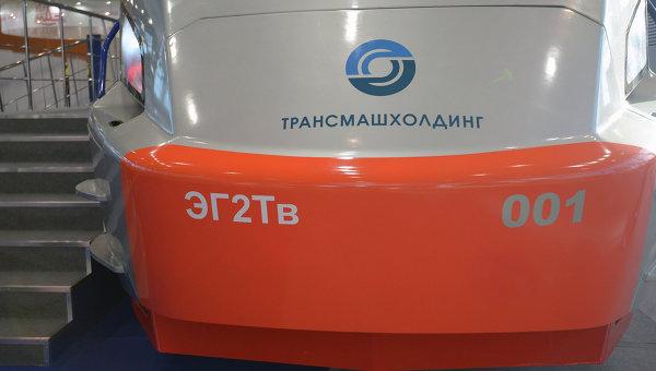 Электропоезд компании Трансмашхолдинг