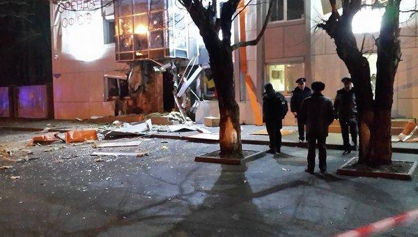 Взрыв в волонтерском пункте в Одессе