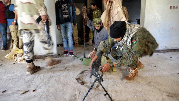 Ливийские военные. Архивное фото