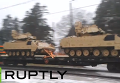 Через Латвия провезли американскую военную технику